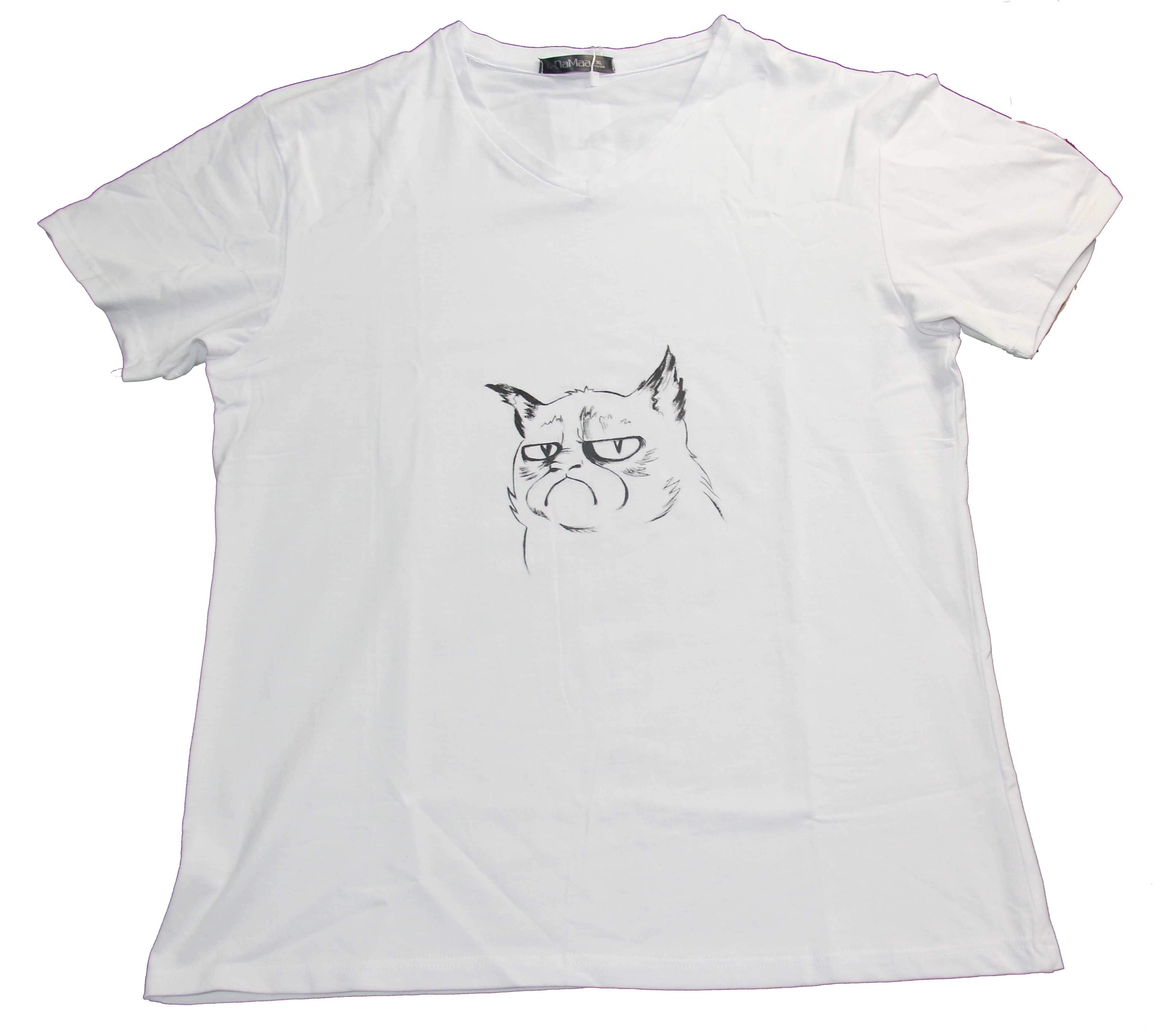 锡姑娘手绘 t恤